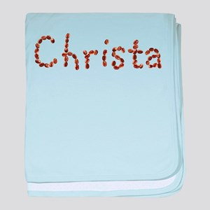 Christa Coffee Beans baby blanket