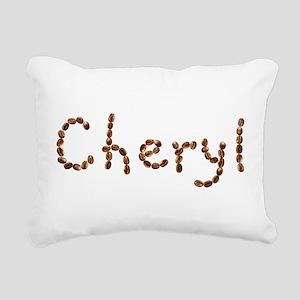 Cheryl Coffee Beans Rectangular Canvas Pillow