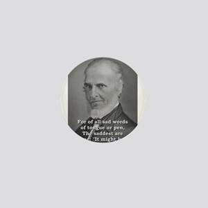 For Of All Sad Words - John Greenleaf Whittier Min