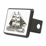 Vintage Sail Ship Rectangular Hitch Cover