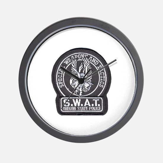 Oregon State Police SWAT Wall Clock