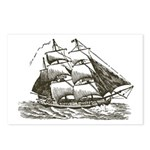 Vintage Sail Ship Postcards (Package of 8)