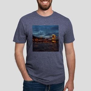 Bridge Mens Tri-blend T-Shirt