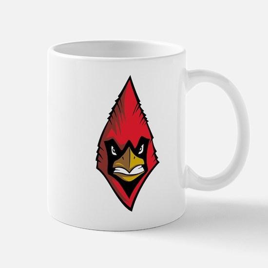 Cardinal Face Mug