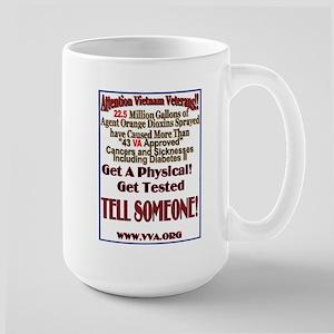 Agent Orange Tell Someone 15 oz Ceramic Large Mug