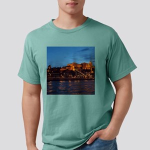 Castle night view Mens Comfort Colors Shirt