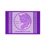 Lynxilicious Rectangle Magnet (10 pack)