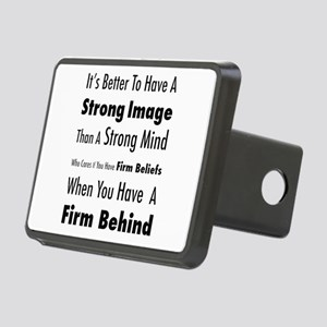 Firm Behind Rectangular Hitch Cover