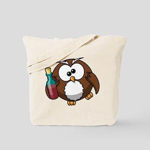 Drunk Owl Tote Bag