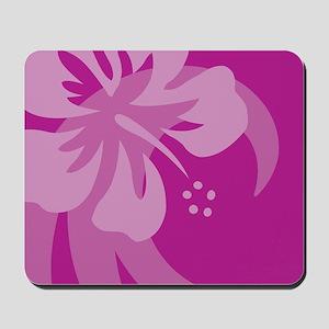 Hibiscus Purple Mousepad