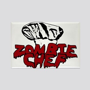 Zombie Chef Rectangle Magnet