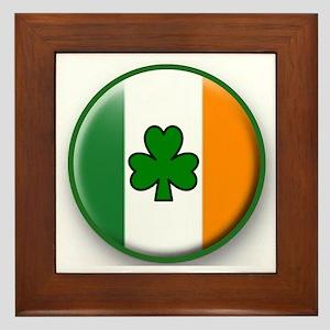 IRISH DRINK TEAM Framed Tile