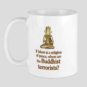 Buddhist Terrorists Mug