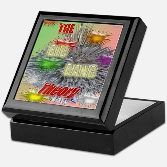 the Big Bang Theory TV Keepsake Box