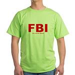 Full Blood Indian Green T-Shirt
