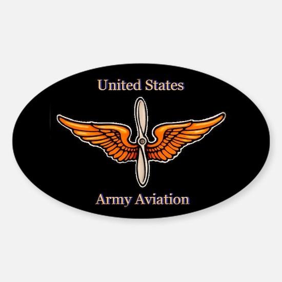 Army Aviation Wings sticker