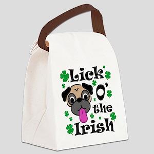 LickOtheIrish Canvas Lunch Bag