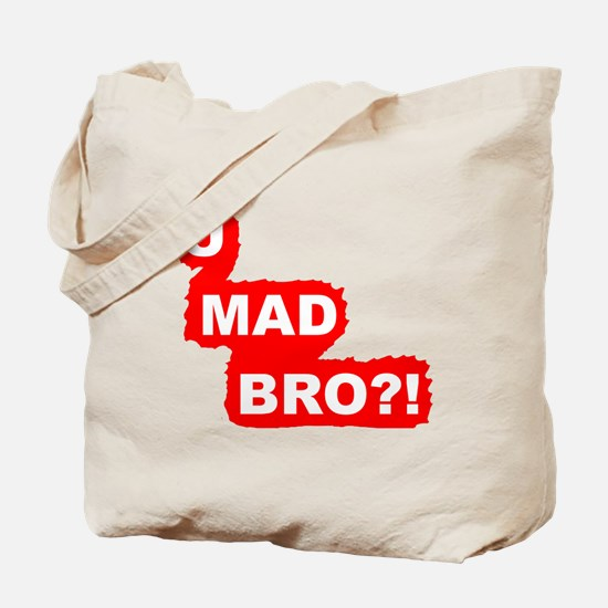 YOU MAD BRO?!-Graphic T Tote Bag