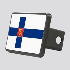 State Flag of Finland Rectangular Hitch Cover