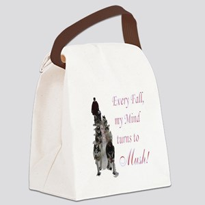 3-mush Canvas Lunch Bag