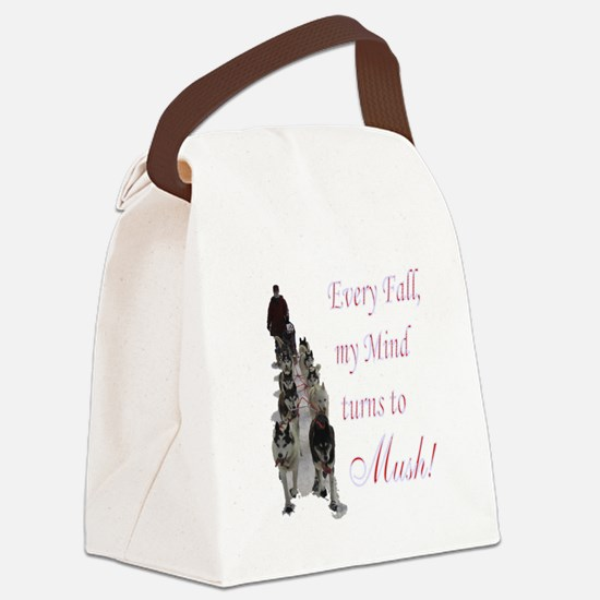 3-mush.png Canvas Lunch Bag