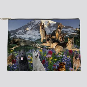 German Shepherd Country Makeup Pouch