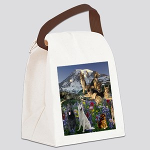 German Shepherd Country Canvas Lunch Bag