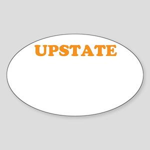 UPSTATE Sticker (Oval)