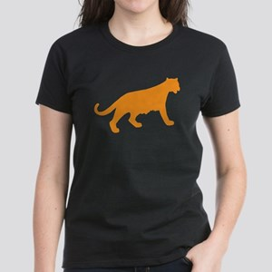 Orange Panther Women's Dark T-Shirt