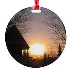 sunriseII Round Ornament