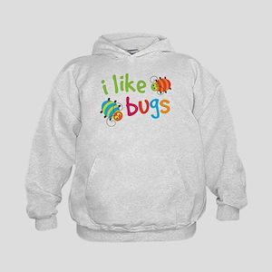 Cute I Like Bugs Kids Hoodie