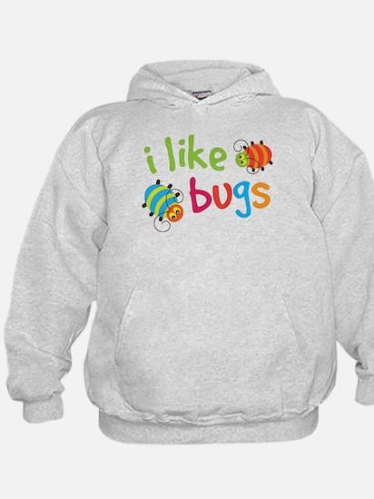 Cute I Like Bugs Hoodie