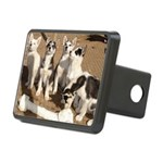 puppiesbone Rectangular Hitch Cover