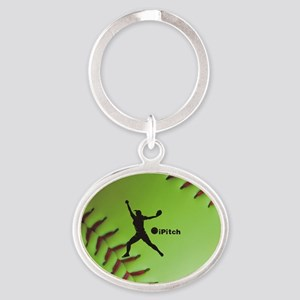 iPitch Fastpitch Softball (right handed) Oval Keyc