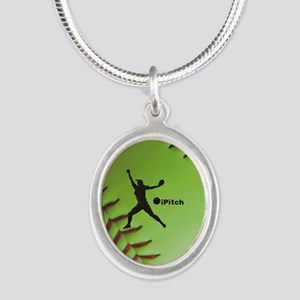 iPitch Fastpitch Softball (right handed) Silver Ov