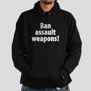 Ban Assault Weapons Hoodie (dark)