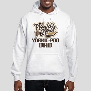 Yorkie-Poo Dog Dad Hooded Sweatshirt