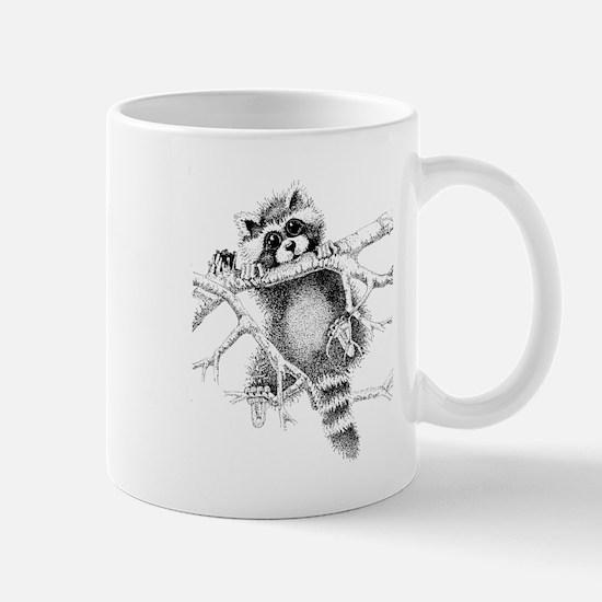 Raccoon Play Mug