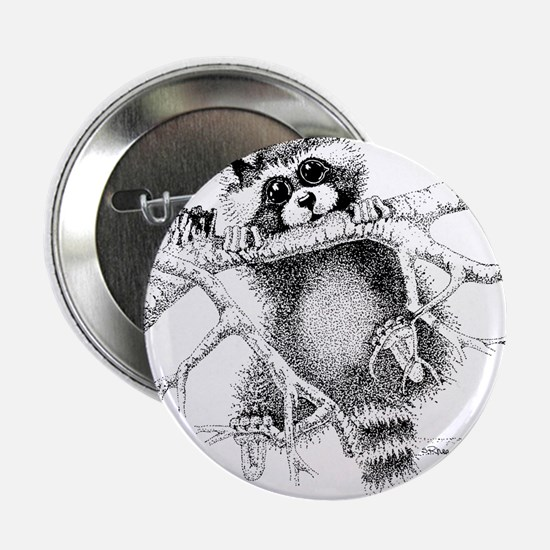 "Raccoon Play 2.25"" Button"