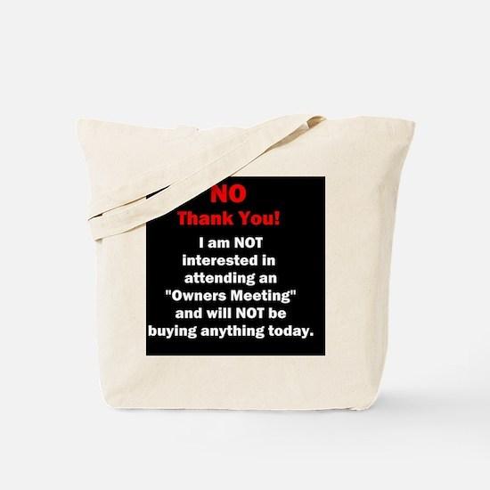 Unique Timeshare Tote Bag