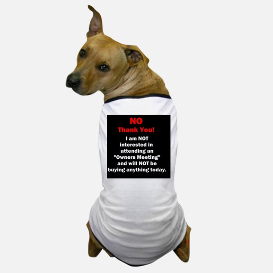 Funny Timesharing Dog T-Shirt