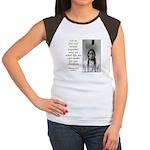 Sitting Bull Quote Women's Cap Sleeve T-Shirt