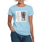Sitting Bull Quote Women's Pink T-Shirt