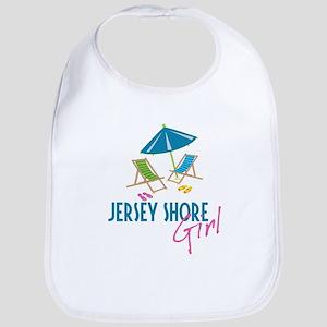 Jersey Shore Girl Bib