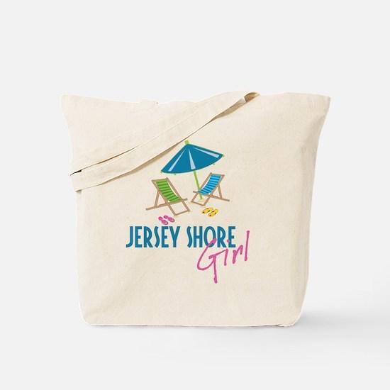 Jersey Shore Girl Tote Bag