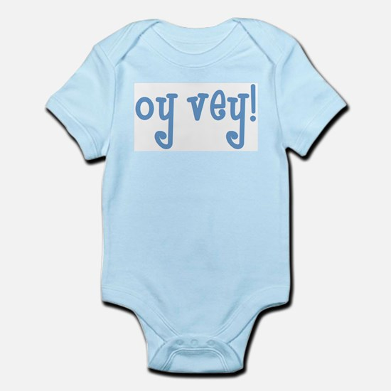 oy vey2 Infant Bodysuit
