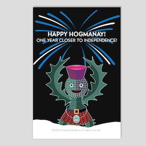 Hogmanay.2 Postcards (Package of 8)