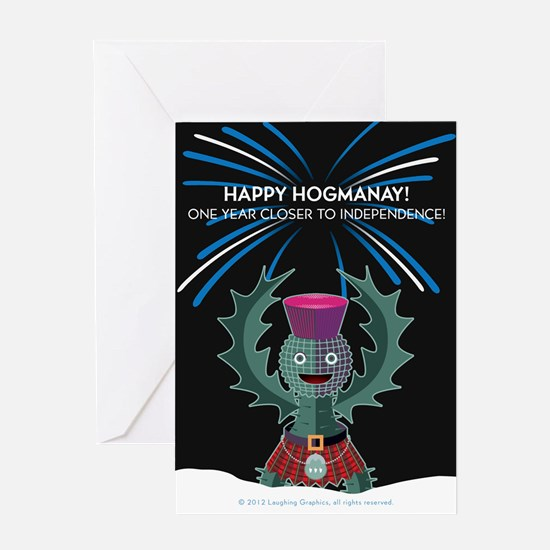Hogmanay.2 Greeting Card