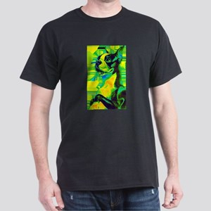 Vintage Boston Terrier Tech Dark T-Shirt