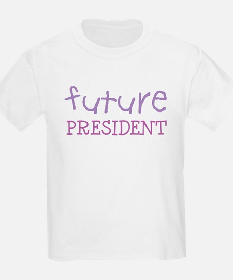 Future President Kids T-Shirt